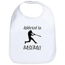 Addicted To Baseball Bib