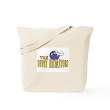 Dodgeball Team Logo Tote Bag