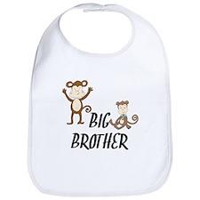 Big Brother Monkeys Bib