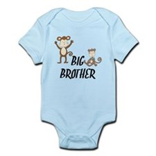 Big Brother Monkeys Body Suit
