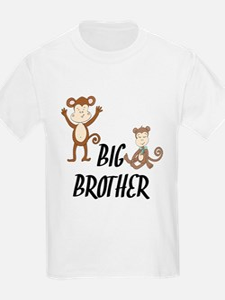 Big Brother Monkeys T-Shirt