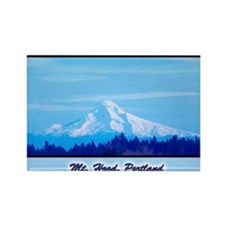 Mt. Hood Rectangle Magnet