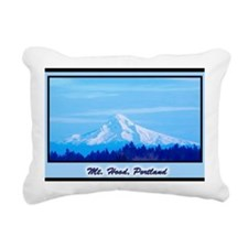 Mt. Hood Rectangular Canvas Pillow