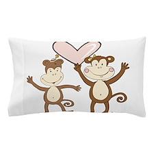 Monkey Love Pillow Case