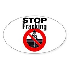 Stop Fracking Decal
