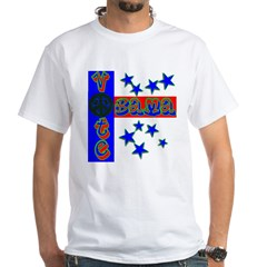 Vote Obama for peace White T-Shirt