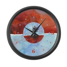 Cute Limbo Large Wall Clock
