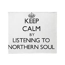 Cute Northern soul Throw Blanket