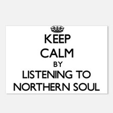 Cute Northern soul Postcards (Package of 8)