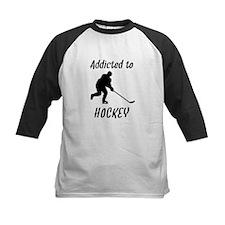 Addicted To Hockey Baseball Jersey