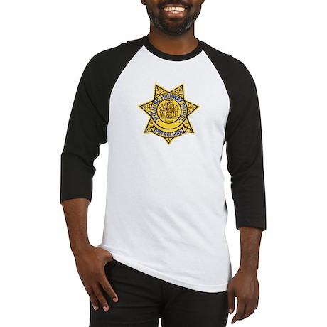 Wyoming Highway Patrol Baseball Jersey