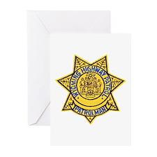 Wyoming Highway Patrol Greeting Cards (Package of