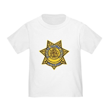 Wyoming Highway Patrol Toddler T-Shirt