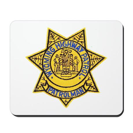 Wyoming Highway Patrol Mousepad