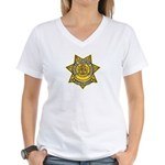 Wyoming Highway Patrol Women's V-Neck T-Shirt