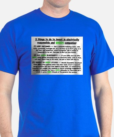 3 GREEN Investments T-Shirt