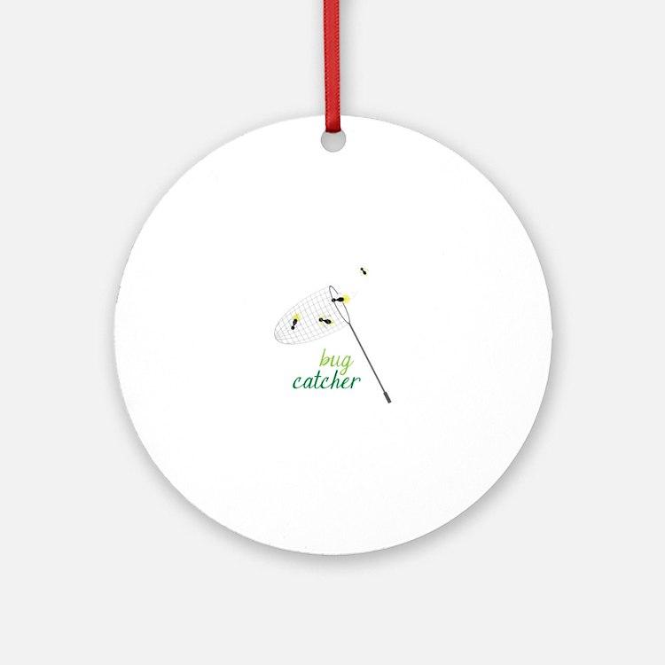 Bug Catcher Ornament (Round)