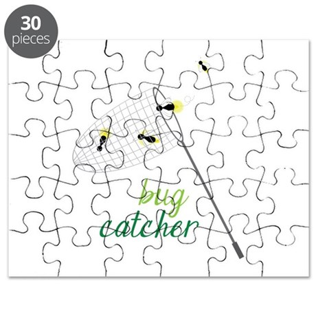 Bug Catcher Puzzle by Embroidery7