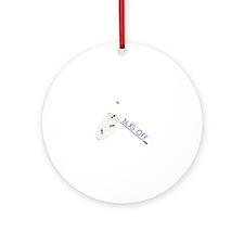 Bug Off Ornament (Round)