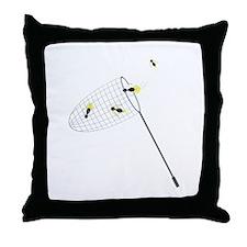 Bug Net Throw Pillow