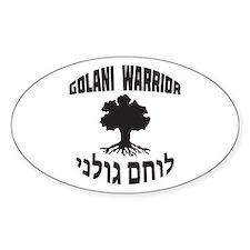 Israel Defense Forces - Golani Warrior Decal