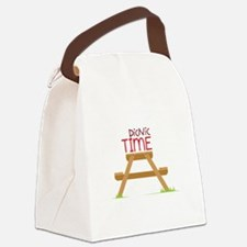 Picnic Time Canvas Lunch Bag