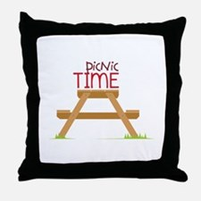 Picnic Time Throw Pillow