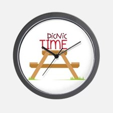 Picnic Time Wall Clock