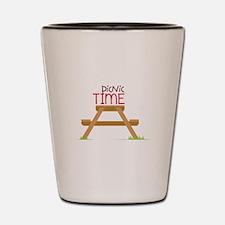 Picnic Time Shot Glass