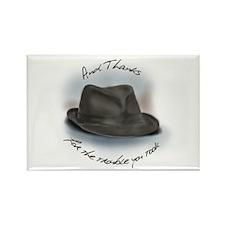 Hat for Leonard 1 Rectangle Magnet