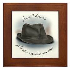 Hat for Leonard 1 Framed Tile