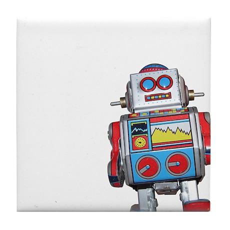 Chunky Robot Tile Coaster