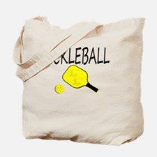 Funny Pickle ball Tote Bag