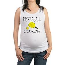 Love pickleball Maternity Tank Top