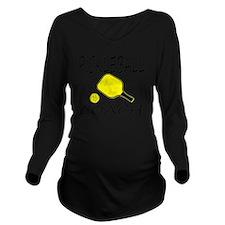 Love pickleball Long Sleeve Maternity T-Shirt