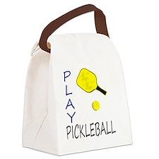 Unique Pickleball Canvas Lunch Bag