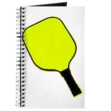 Yellow pickle ball pickleball paddle Journal
