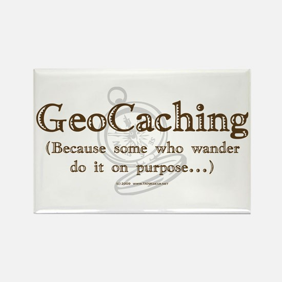 GeoCaching Purpose Rectangle Magnet