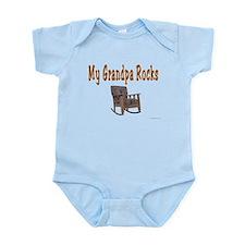 My Grandpa Rocks Infant Bodysuit