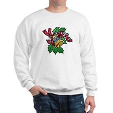 Christmas Art Holly and Bells Sweatshirt