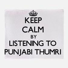 Cute Punjabi Throw Blanket