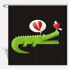 Unique Danger Shower Curtain
