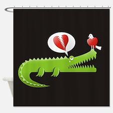 Unique Alligator Shower Curtain