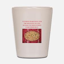 fried rice Shot Glass