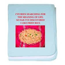 fried rice baby blanket