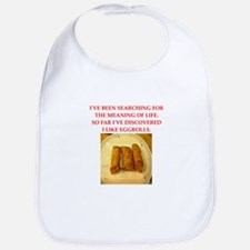 egg roll Bib