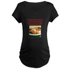 french toast Maternity T-Shirt
