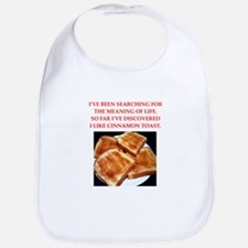 cinnamon toast Bib