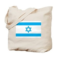 Israel Flag - Magen David Tote Bag