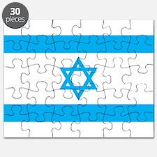 Israel Flag - Magen David Puzzle